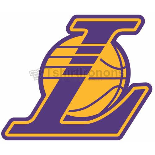 Los Angeles Lakers T-shirts Iron On Transfers N1052