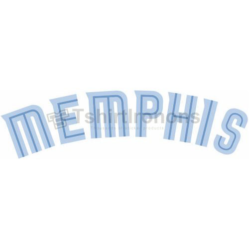 Memphis Grizzlies T-shirts Iron On Transfers N1054