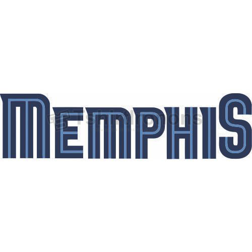 Memphis Grizzlies T-shirts Iron On Transfers N1055