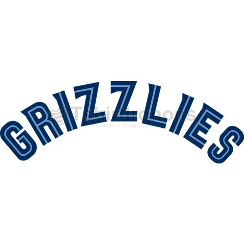Memphis Grizzlies T-shirts Iron On Transfers N1056