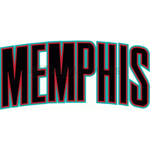 Memphis Grizzlies T-shirts Iron On Transfers N1058