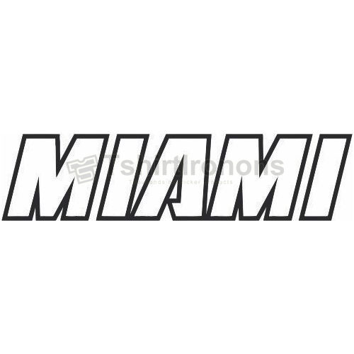 Miami Heat T-shirts Iron On Transfers N1067