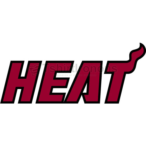 Miami Heat T-shirts Iron On Transfers N1068