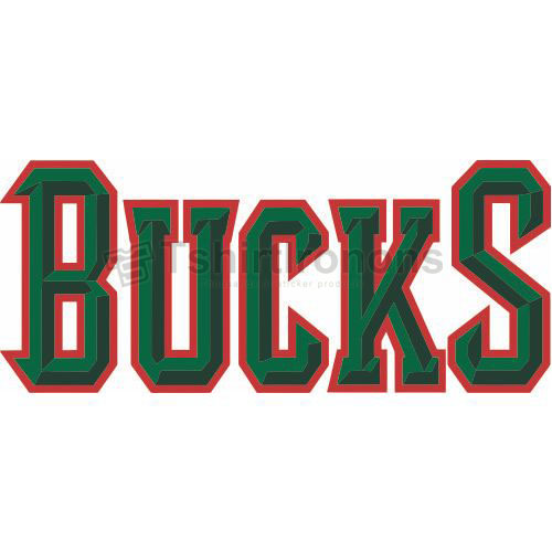 Milwaukee Bucks T-shirts Iron On Transfers N1075