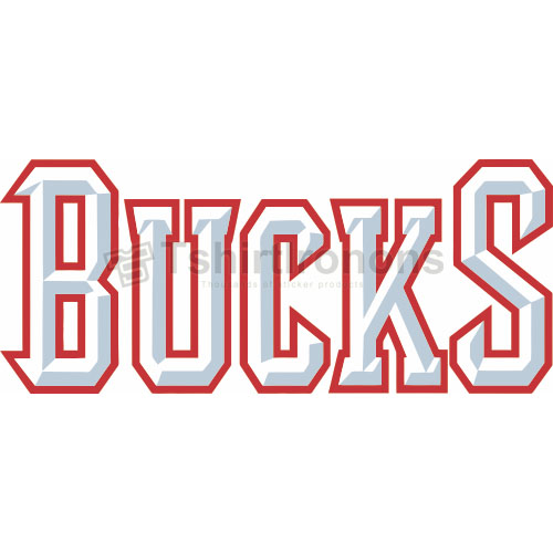 Milwaukee Bucks T-shirts Iron On Transfers N1077
