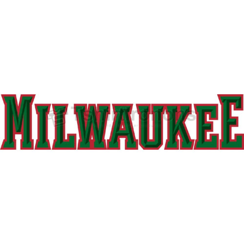 Milwaukee Bucks T-shirts Iron On Transfers N1078