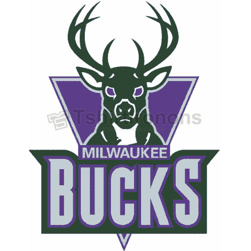 Milwaukee Bucks T-shirts Iron On Transfers N1079