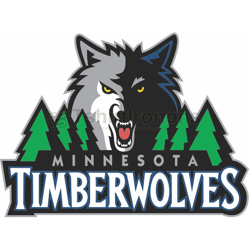 Minnesota Timberwolves T-shirts Iron On Transfers N1084