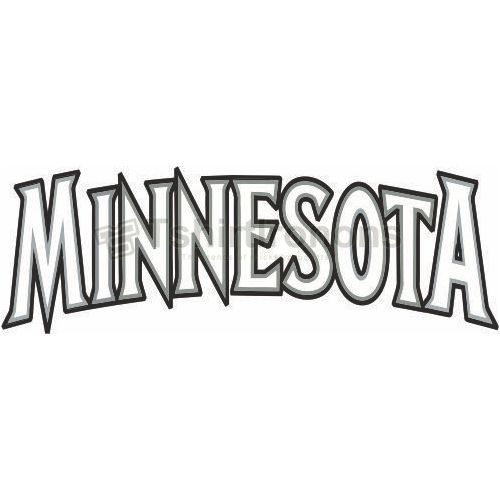 Minnesota Timberwolves T-shirts Iron On Transfers N1085