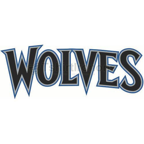 Minnesota Timberwolves T-shirts Iron On Transfers N1086