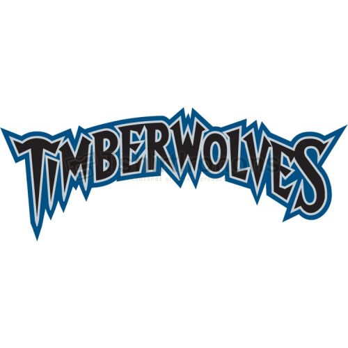 Minnesota Timberwolves T-shirts Iron On Transfers N1089