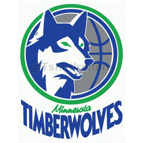 Minnesota Timberwolves T-shirts Iron On Transfers N1090