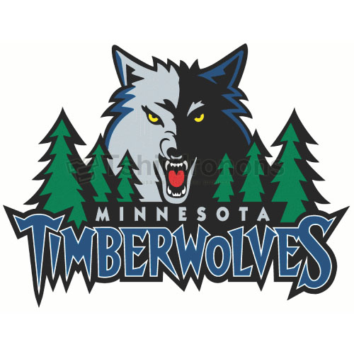 Minnesota Timberwolves T-shirts Iron On Transfers N1091