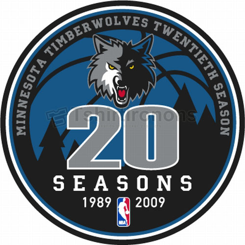 Minnesota Timberwolves T-shirts Iron On Transfers N1092