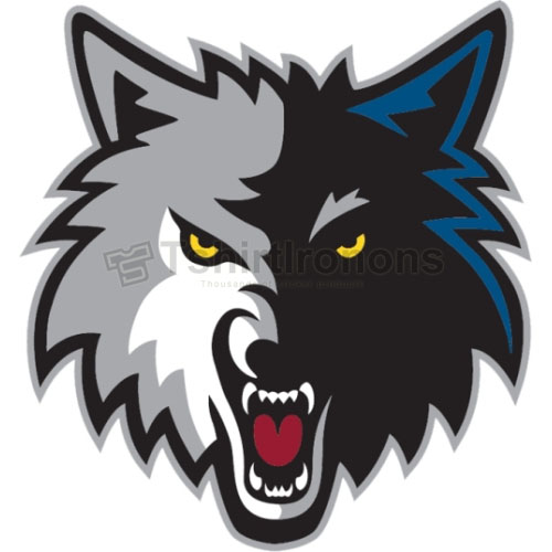 Minnesota Timberwolves T-shirts Iron On Transfers N1093