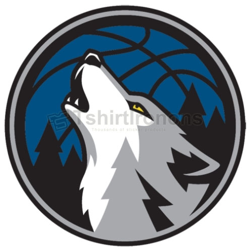 Minnesota Timberwolves T-shirts Iron On Transfers N1094