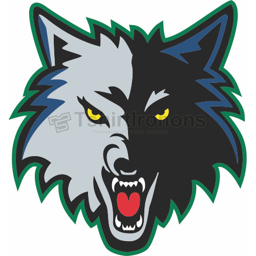 Minnesota Timberwolves T-shirts Iron On Transfers N1095