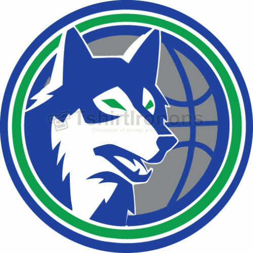 Minnesota Timberwolves T-shirts Iron On Transfers N1097