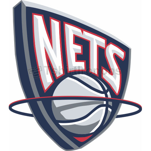 New Jersey Nets T-shirts Iron On Transfers N1099