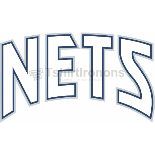 New Jersey Nets T-shirts Iron On Transfers N1100
