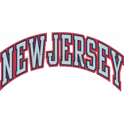 New Jersey Nets T-shirts Iron On Transfers N1101
