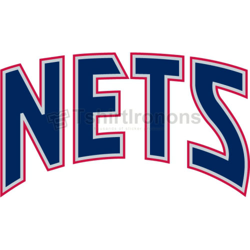 New Jersey Nets T-shirts Iron On Transfers N1102