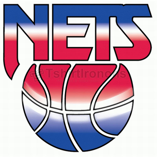 New Jersey Nets T-shirts Iron On Transfers N1103