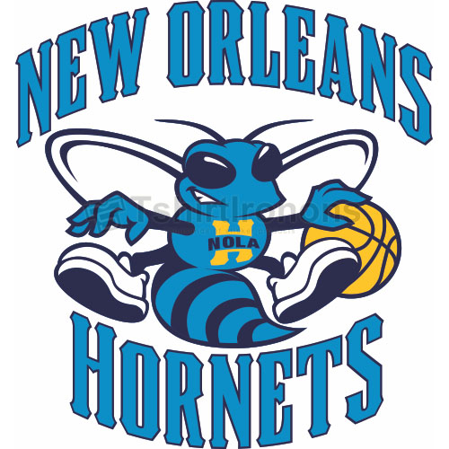 New Orleans Hornets T-shirts Iron On Transfers N1106