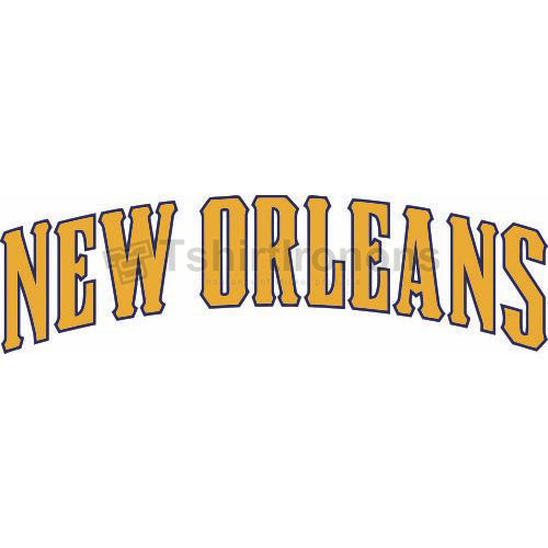 New Orleans Hornets T-shirts Iron On Transfers N1107