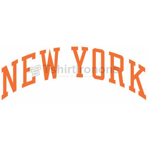 New York Knicks T-shirts Iron On Transfers N1115