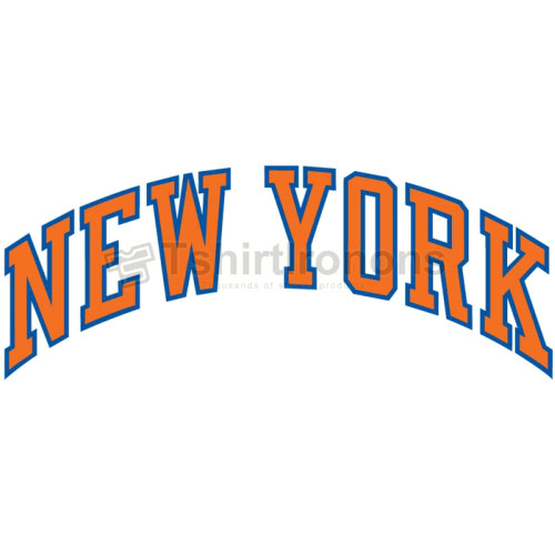 New York Knicks T-shirts Iron On Transfers N1116