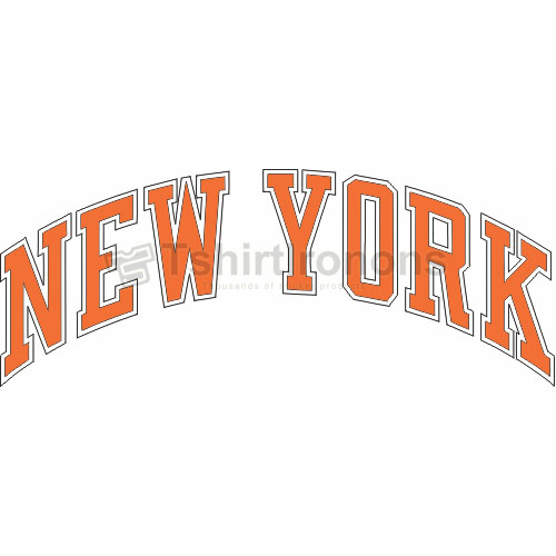 New York Knicks T-shirts Iron On Transfers N1117