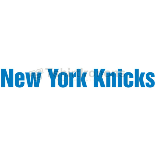 New York Knicks T-shirts Iron On Transfers N1118