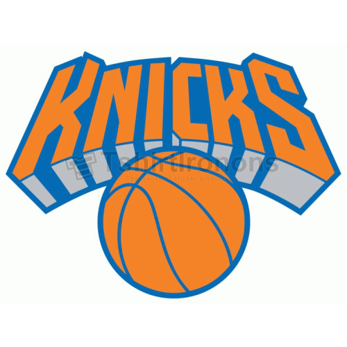 New York Knicks T-shirts Iron On Transfers N1124