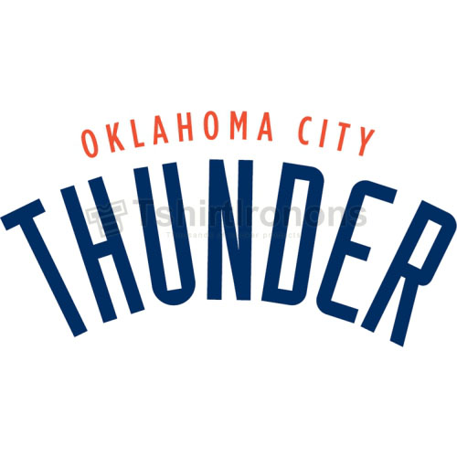 Oklahoma City Thunder T-shirts Iron On Transfers N1129