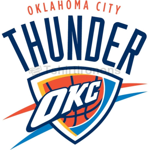 Oklahoma City Thunder T-shirts Iron On Transfers N1131
