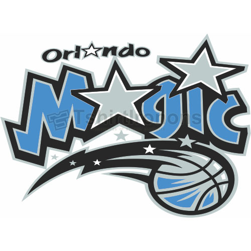 Orlando Magic T-shirts Iron On Transfers N1132