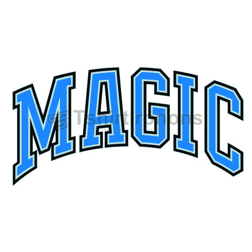 Orlando Magic T-shirts Iron On Transfers N1137