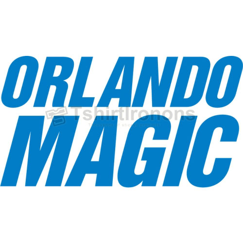 Orlando Magic T-shirts Iron On Transfers N1138