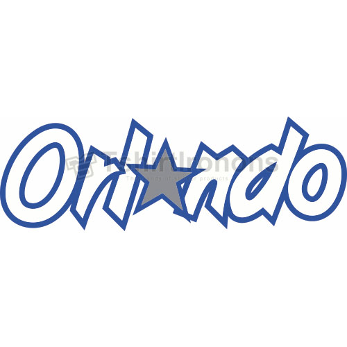 Orlando Magic T-shirts Iron On Transfers N1140