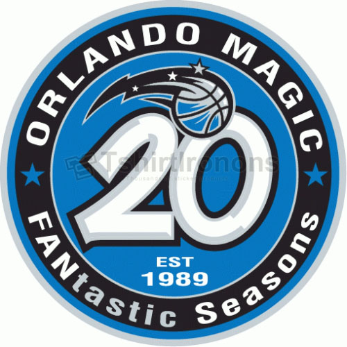 Orlando Magic T-shirts Iron On Transfers N1144