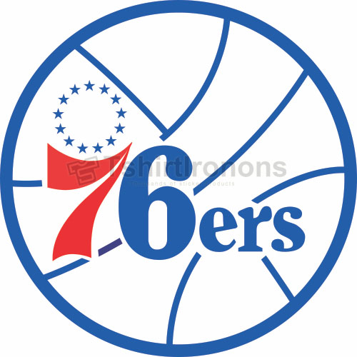 Philadelphia 76ers T-shirts Iron On Transfers N1147