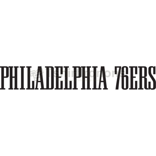 Philadelphia 76ers T-shirts Iron On Transfers N1150