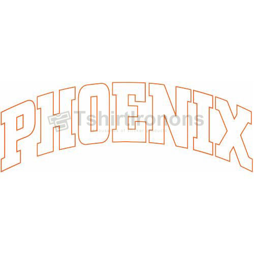 Phoenix Suns T-shirts Iron On Transfers N1159