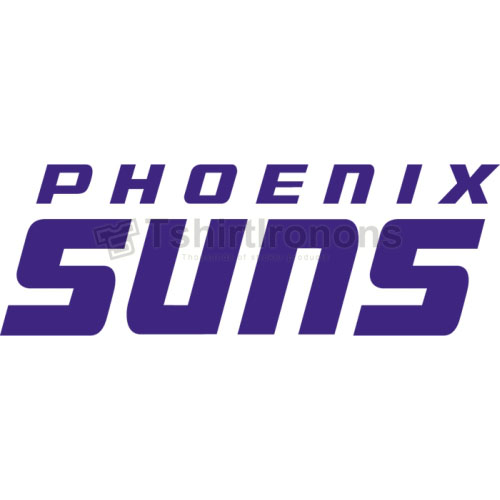 Phoenix Suns T-shirts Iron On Transfers N1162
