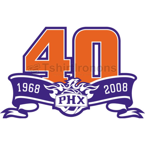 Phoenix Suns T-shirts Iron On Transfers N1164