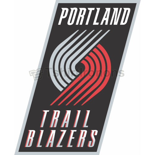 Portland Trail Blazers T-shirts Iron On Transfers N1167