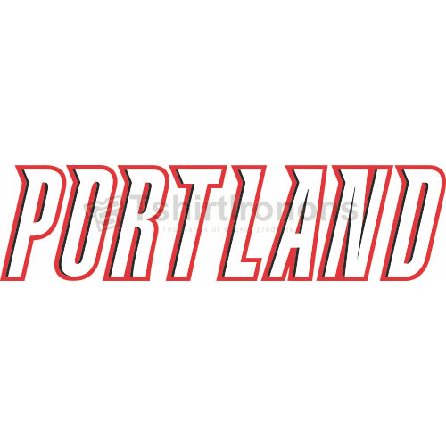 Portland Trail Blazers T-shirts Iron On Transfers N1169