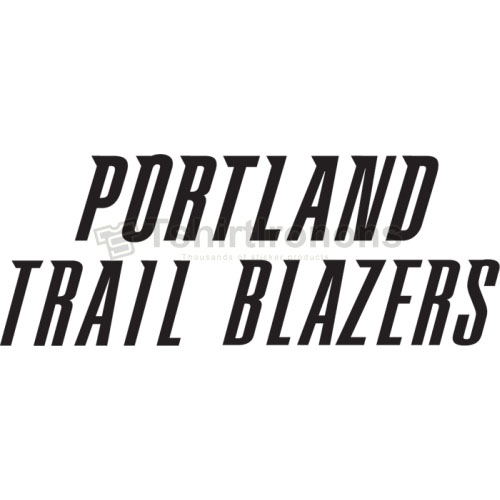 Portland Trail Blazers T-shirts Iron On Transfers N1170