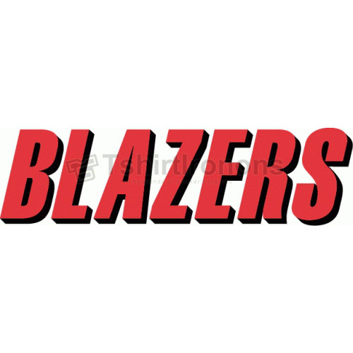 Portland Trail Blazers T-shirts Iron On Transfers N1172